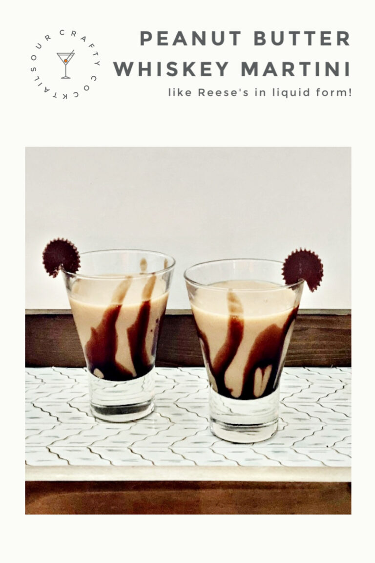Make An Amazing Peanut Butter Whiskey Chocolate Martini
