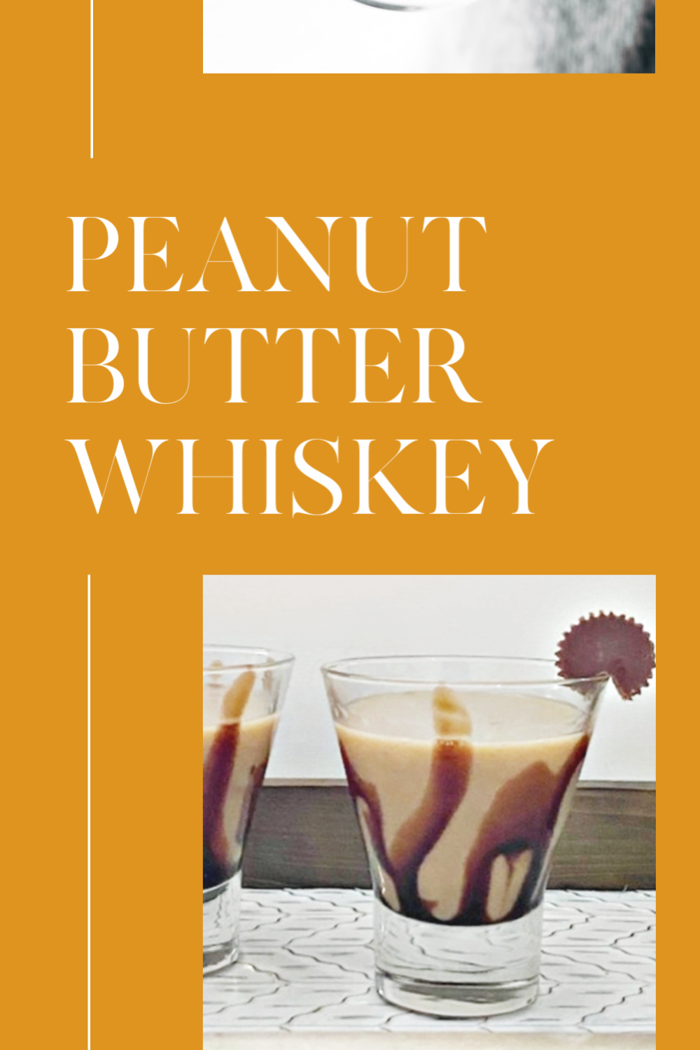 peanut butter whiskey pin image