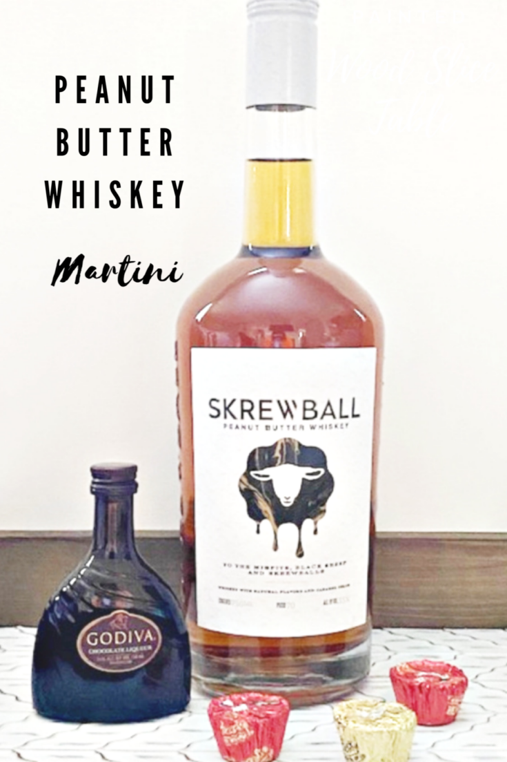 Peanut butter whiskey bottle