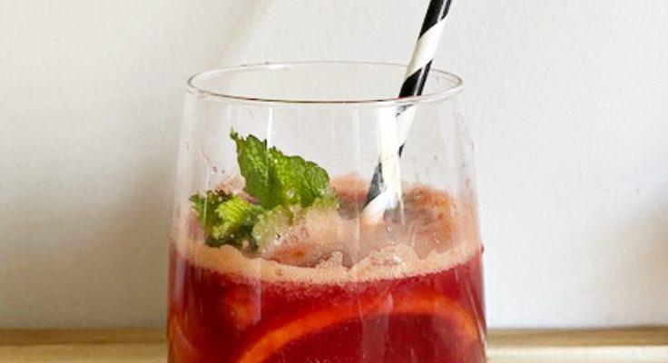 Make The Most Amazing Blood Orange Mimosas