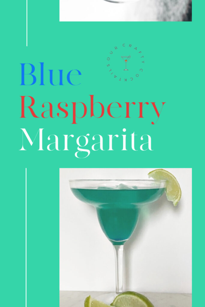 blue raspberry margarita