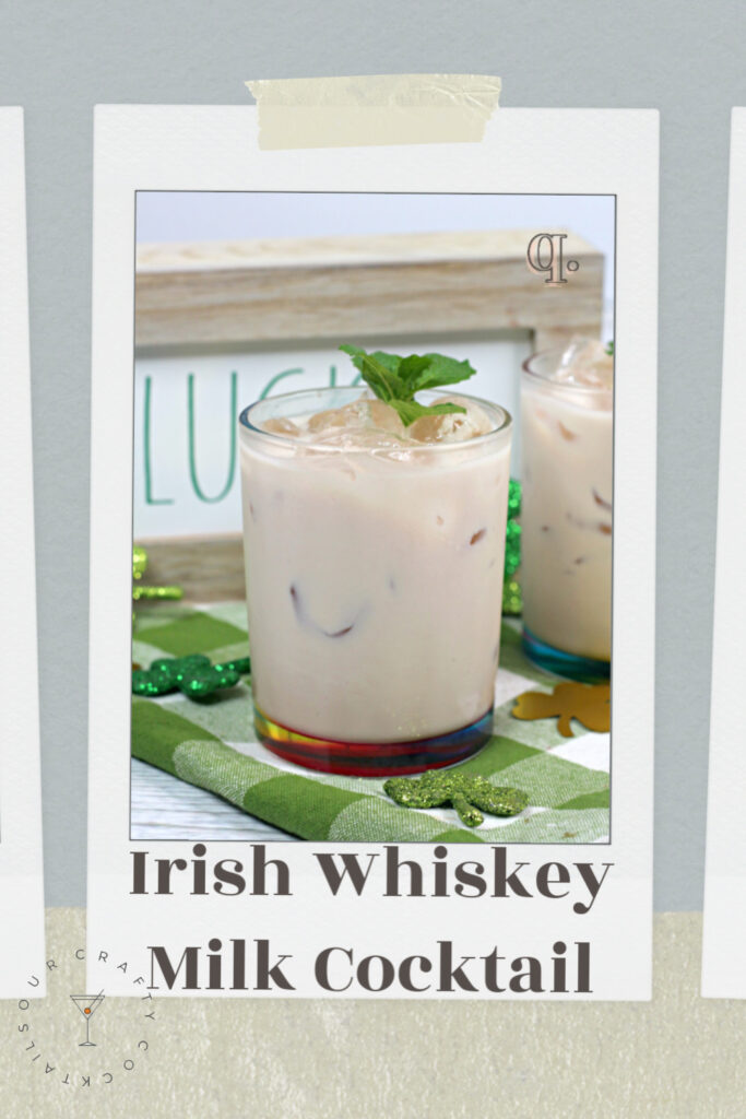 jameson irish whiskey milk cocktial