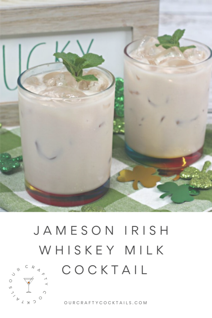 Jameson Irish Whiskey Milk Cocktail