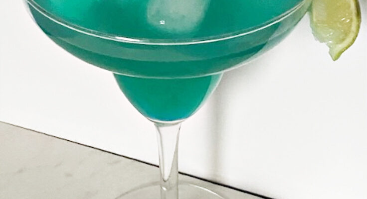 Make A Tasty Blue Raspberry Margarita Perfect For Cinco de Mayo