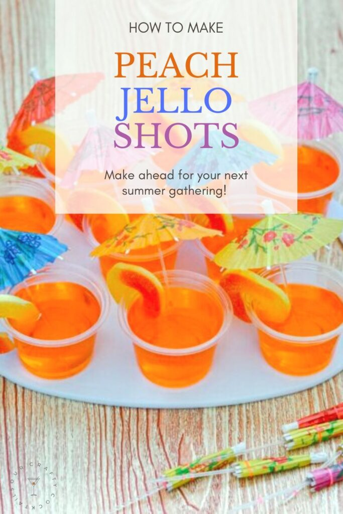 peach jello shots pin image