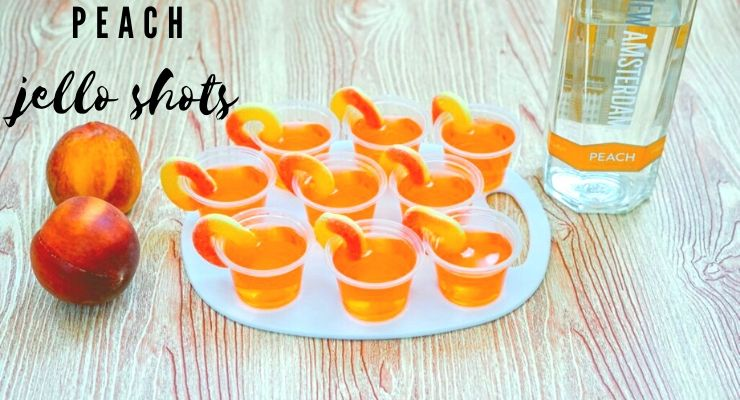 How To Make Perfectly Peach Jello Shots
