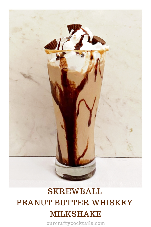 Skrewball Peanut Butter Whiskey Milkshake