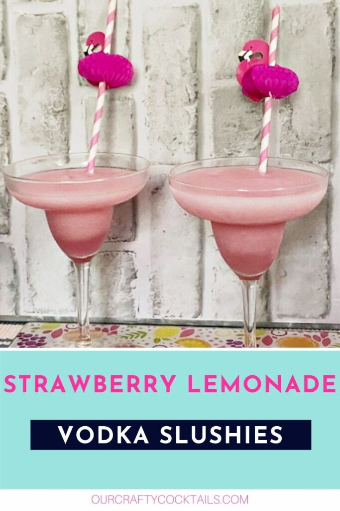 malibu strawberry vodka frozen lemonade