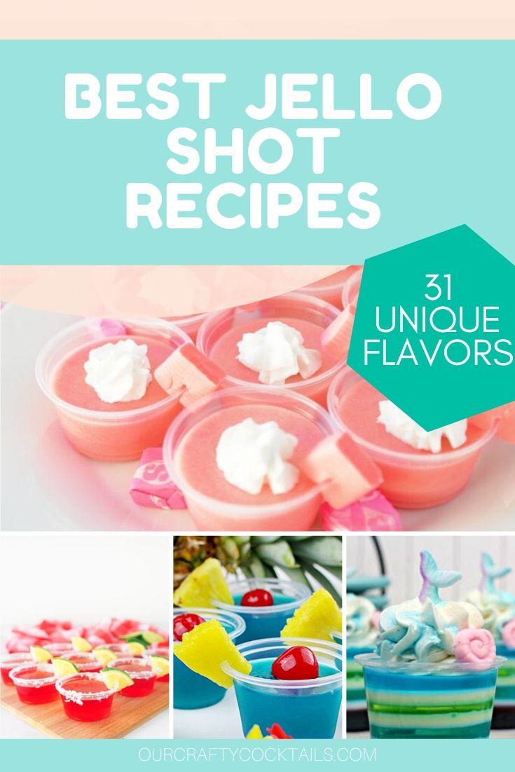 31 jello shot recipes
