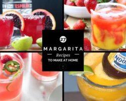 27 margarita recipes to make at home