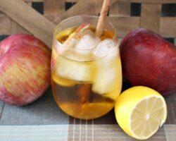 make an apple cider mezcal margarita