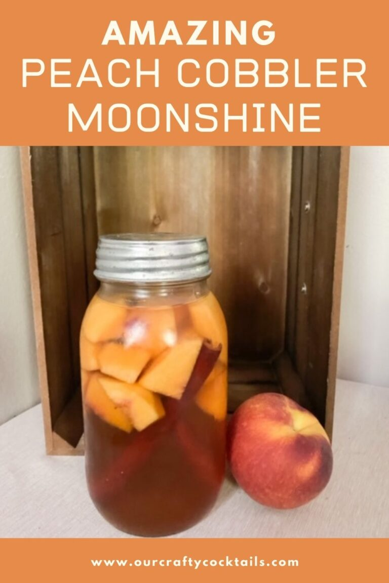 How To Make Peach Cobbler Moonshine With Fresh Peaches