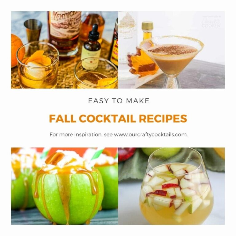35 Fantastic Fall Cocktail Recipes To Try This Season