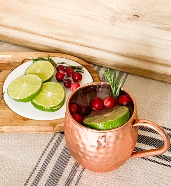 How To Make A Sweet And Tasty Cranberry Moscow Mule
