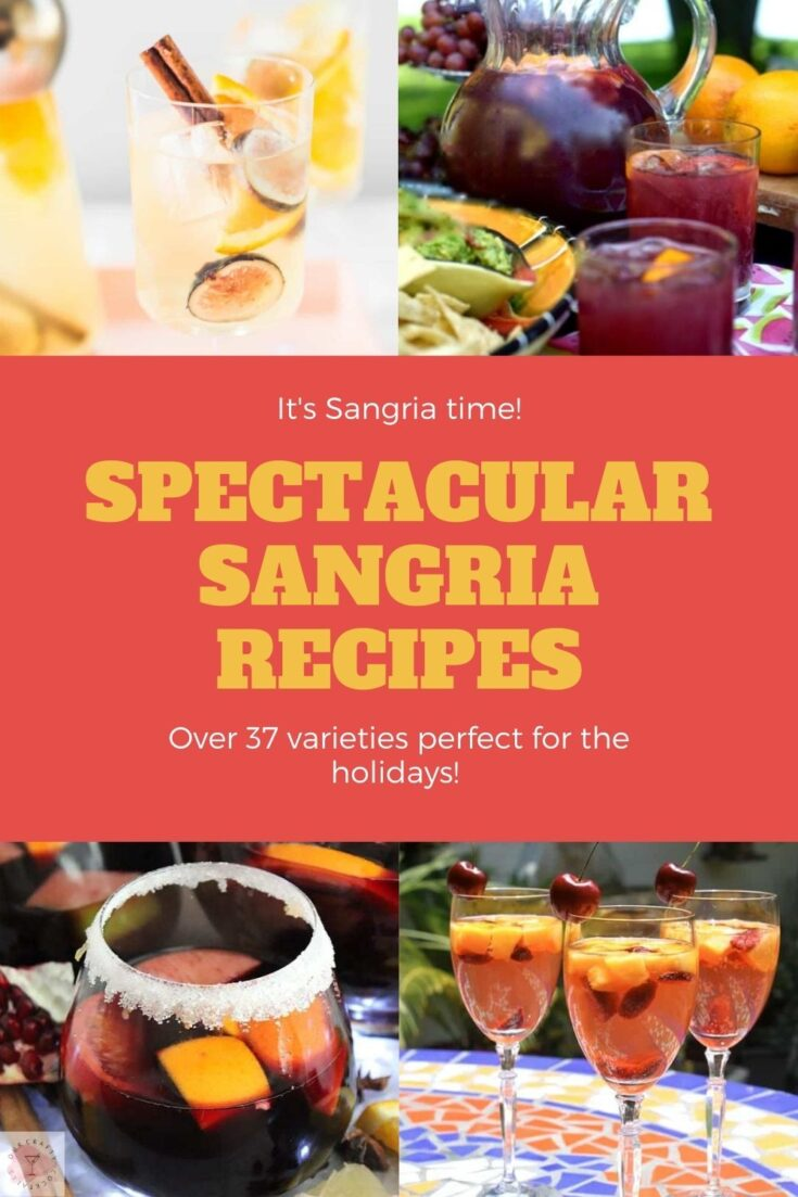 Get ready to be amazed by these spectacular sangria recipes.