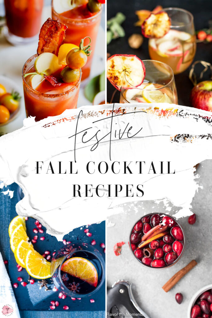 We've gathered 35 absolutely fantastic fall cocktail recipes for you to try this season. From pumpkin martinis, to apple margaritas and more!