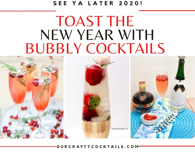 Say Farewell To 2020 With Bubbly New Year's Eve Cocktails
