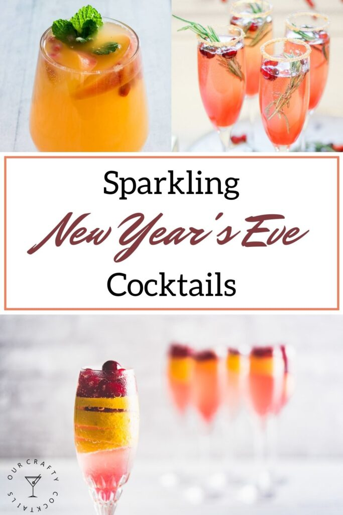 Sparkling New Year's Eve Cocktails