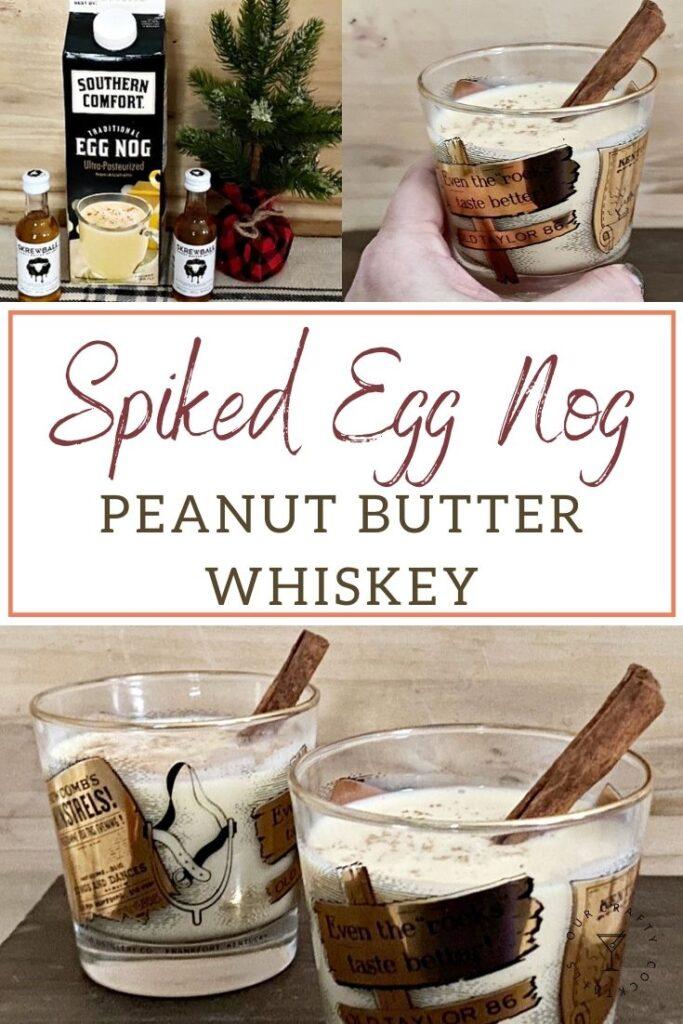 peanut butter whiskey eggnog