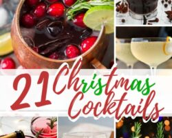 23 christmas cocktails