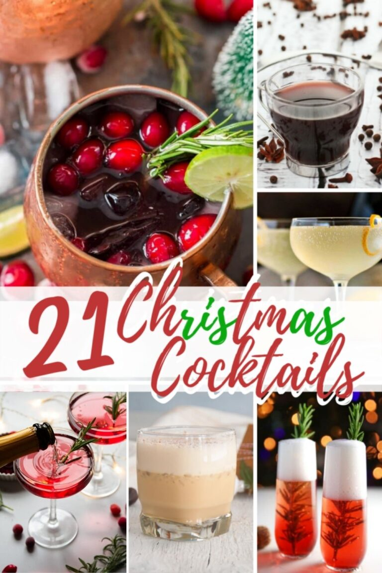 23 Quick And Easy Christmas Cocktails To Enjoy This Holiday Season