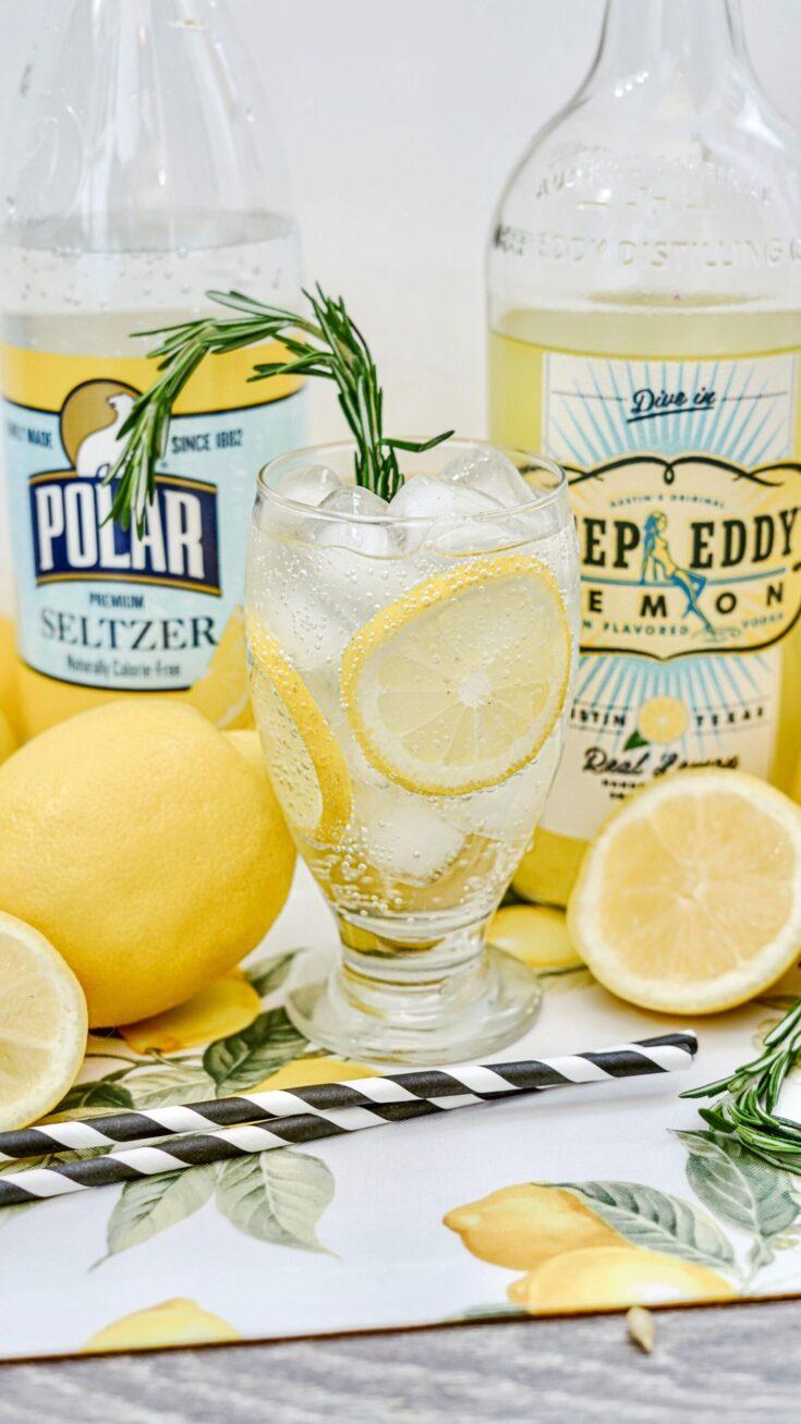 Deep Eddy Lemonade Vodka Spritzer