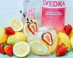 Strawberry Vodka Lemonade