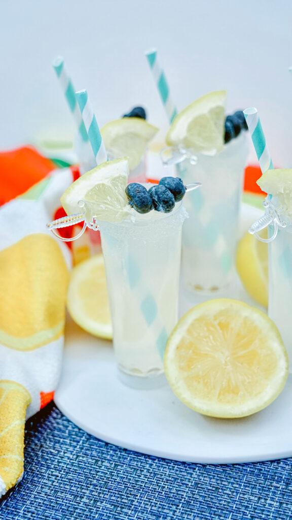 Vodka Lemonade Shooters vertical image