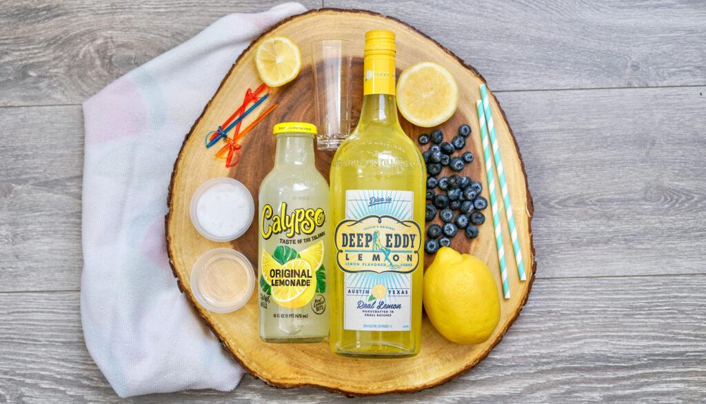 Vodka Lemonade Shooters ingredients