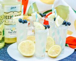 Vodka Lemonade Shooters 3 glasses