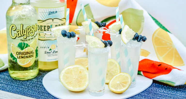 Lemonade Vodka Shooters Perfect For Your Next Barbecue