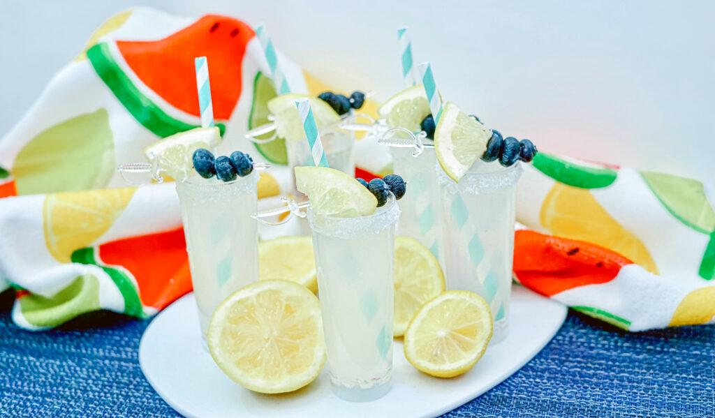 Vodka Lemonade Shooters