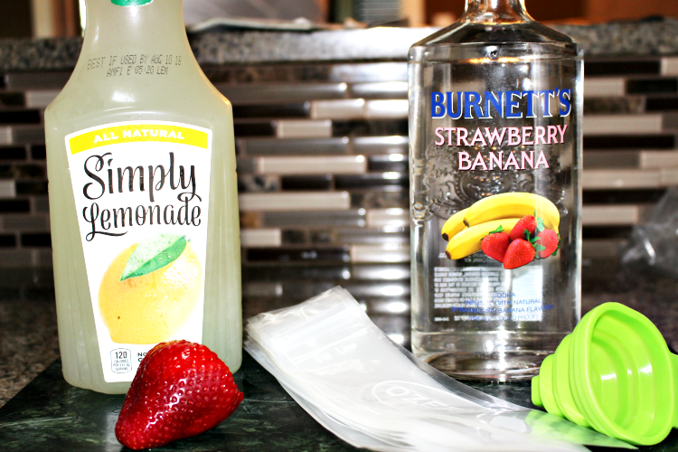 boozy popsicles supplies