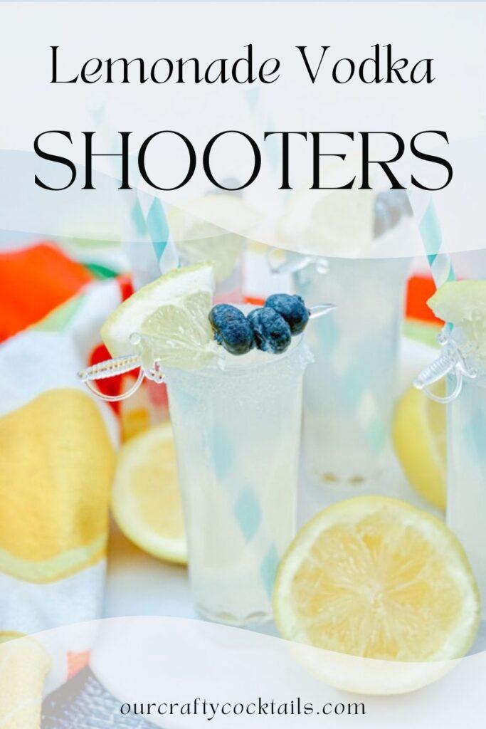 Lemonade Vodka Shooters pin image