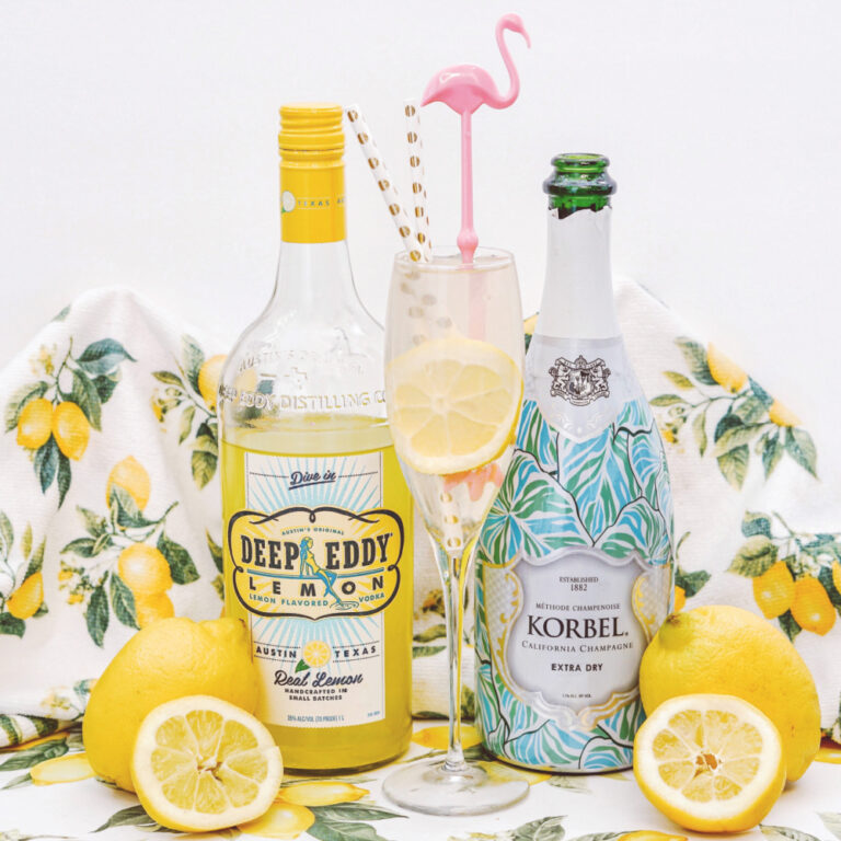 How To Make A Refreshing Spiked Lemonade Mimosa