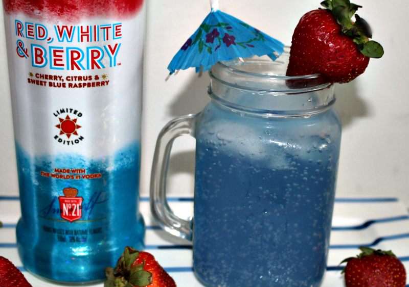 Red, White And Berry Patriotic Cocktail