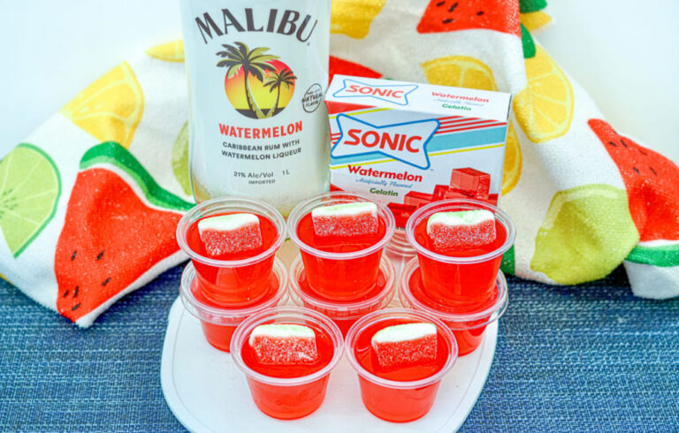 Make Spectacular Sonic Watermelon Jello Shots For Your Next Party