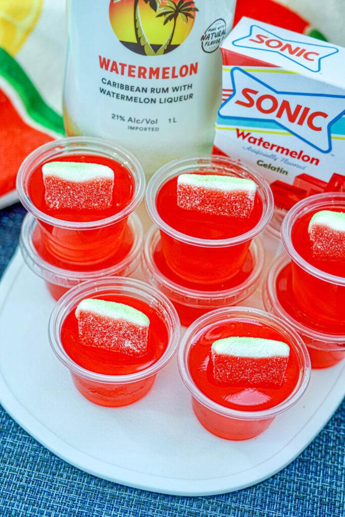 sonic watermelon jello shots