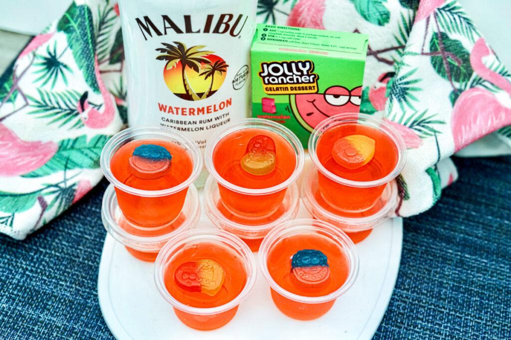 jolly rancher watermelon jello shots