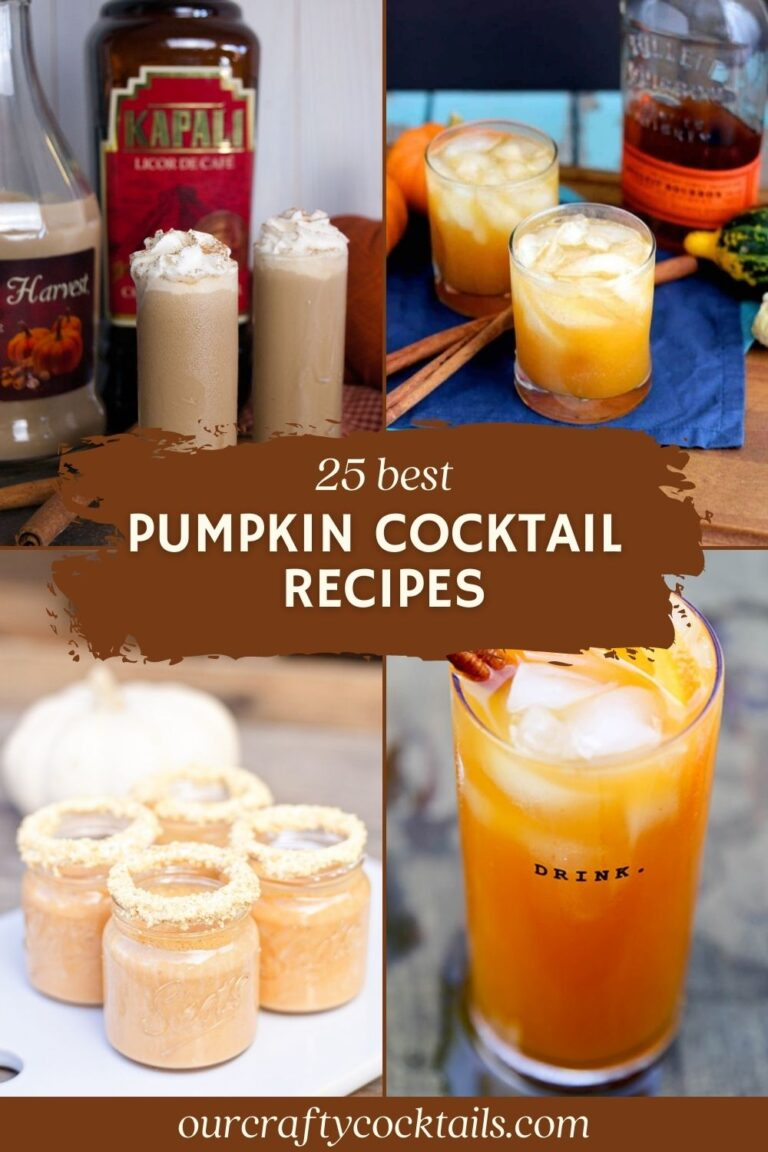 25 Fabulous Fall Pumpkin Cocktail Recipes