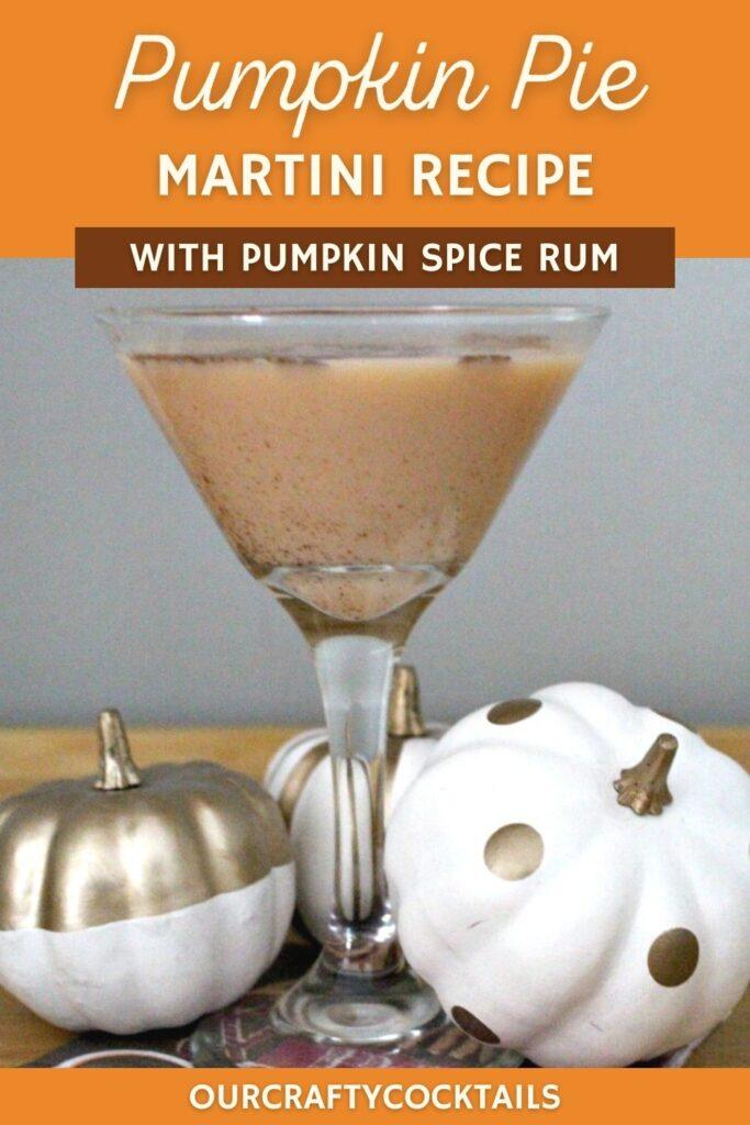 pumpkin pie martini recipe with pumpkins