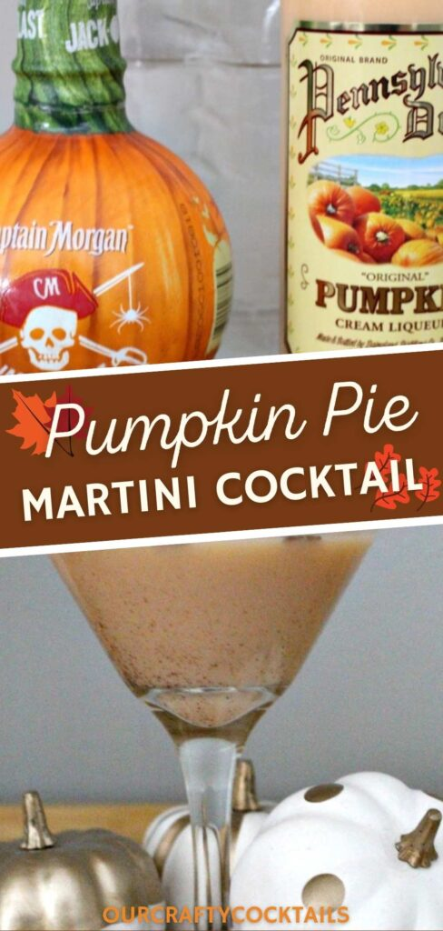 pumpkin pie martini ingredients