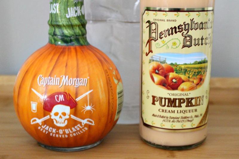 ingredients for pumpkin pie martini