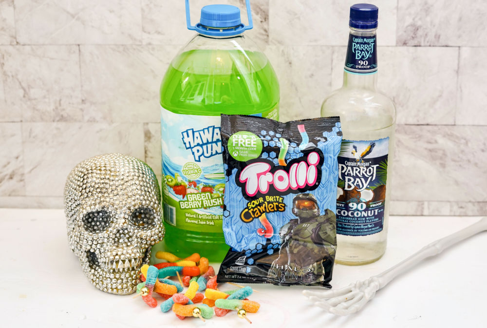 ingredients for halloween shooters