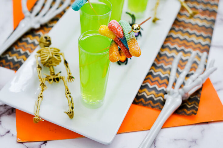 Halloween shooters with skeletons